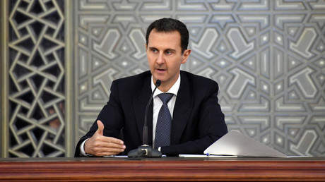 Bachar el-Assad en novembre 2017, photo ©Sana/Reuters