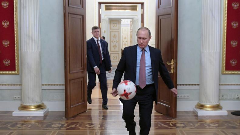 Coupe du monde 2018 : Vladimir Poutine annonce ses favoris pour le Mondial