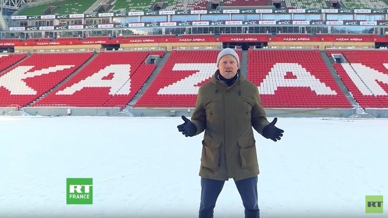 Mondial 2018 : «Ils prieront tous le Dieu du football», Peter Schmeichel visite Kazan (VIDEO)