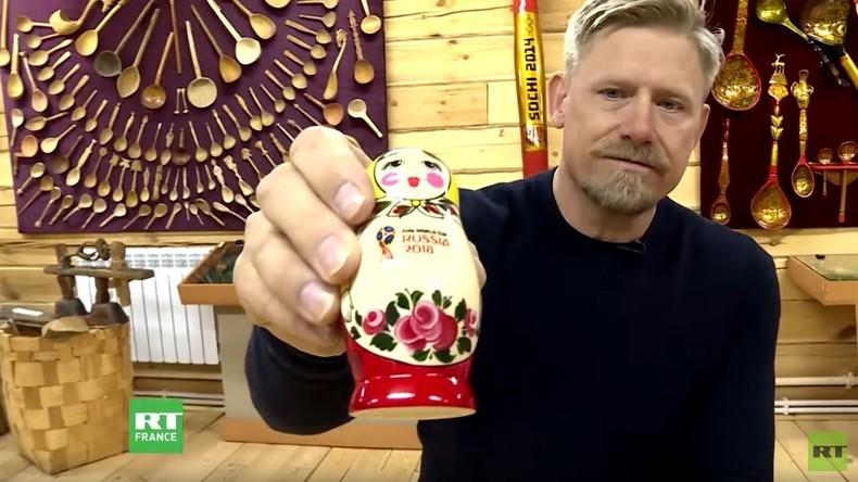 Mondial 2018 : véhicules tout terrain et khokhloma, Peter Schmeichel visite Nijni Novgorod (VIDEO)