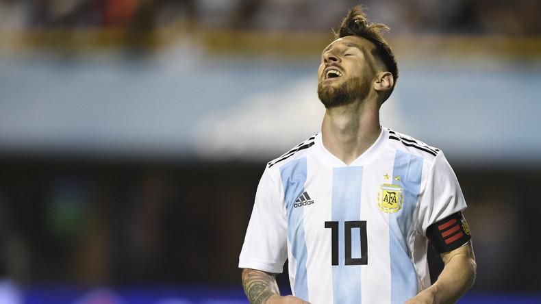 La ville d'origine de Messi se pare de bleu et de blanc en vue de la coupe du monde (VIDEO)