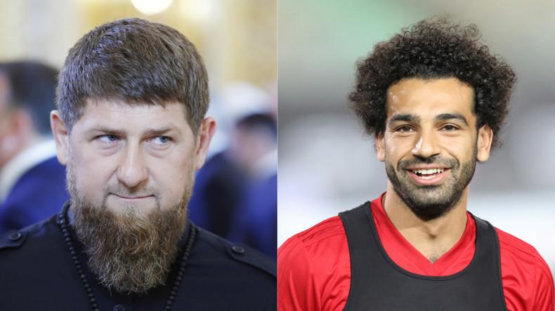 «Le meilleur footballeur du monde, une personne parfaite» : Kadyrov encense Mohamed Salah