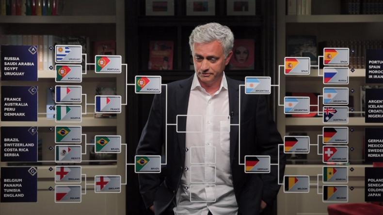 Coupe du monde 2018 : découvrez quelles équipes José Mourinho voit en demi-finales