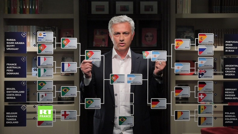 Coupe du monde 2018 : voici comment José Mourinho imagine la finale