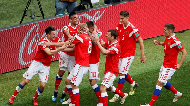 Coupe du monde 2018 : la Russie s'impose 5 à 0 contre l'Arabie saoudite en ouverture