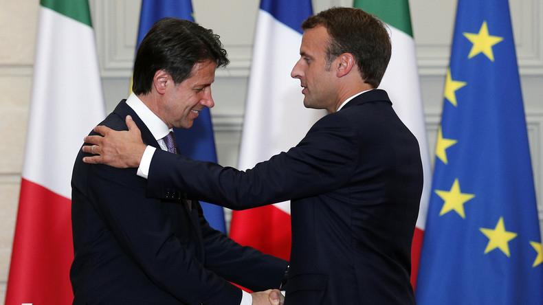 «Des centres dans les pays de départ» : l'idée de Conte qui rappelle la promesse avortée de Macron