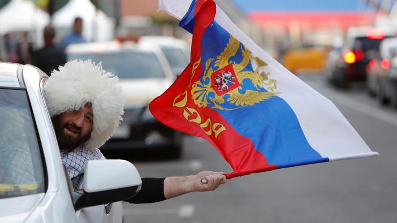 Non, Poutine n'a pas demandé aux Russes d'avoir des «rapports sexuels» avec les supporters
