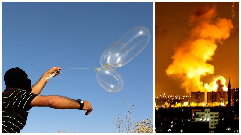 L'armée israélienne frappe le Hamas en représailles aux projectiles tirés depuis Gaza