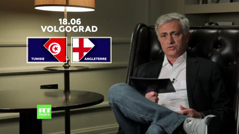 Découvrez le pronostic de José Mourinho pour le match Tunisie-Angleterre (VIDEO)