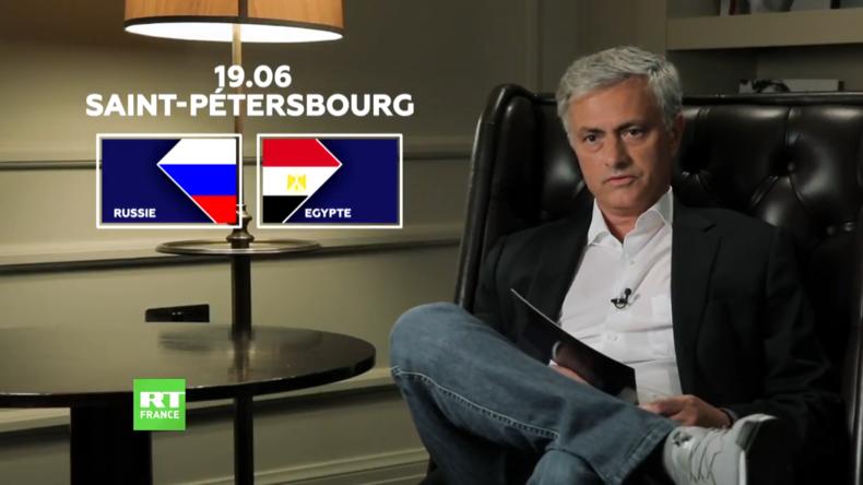 Découvrez l'analyse de José Mourinho pour le match Russie-Egypte (VIDEO)
