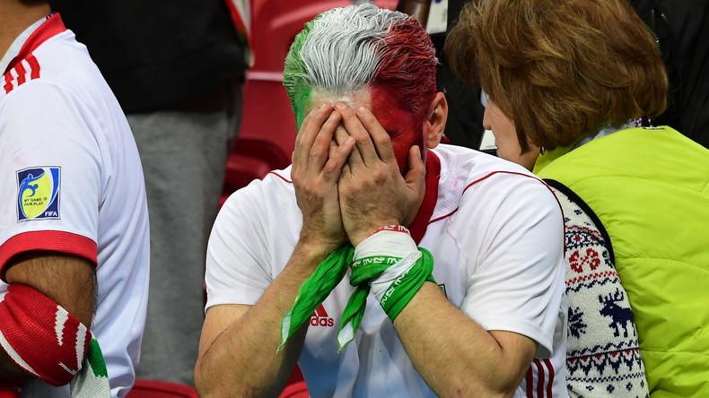 Un joueur iranien devient la star de Twitter après une touche salto ratée contre l'Espagne (VIDEO)