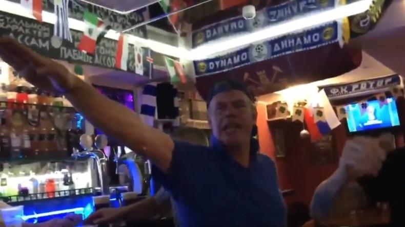 Des supporters anglais célèbrent leur victoire par des saluts nazis dans l'ex-Stalingrad (VIDEO)