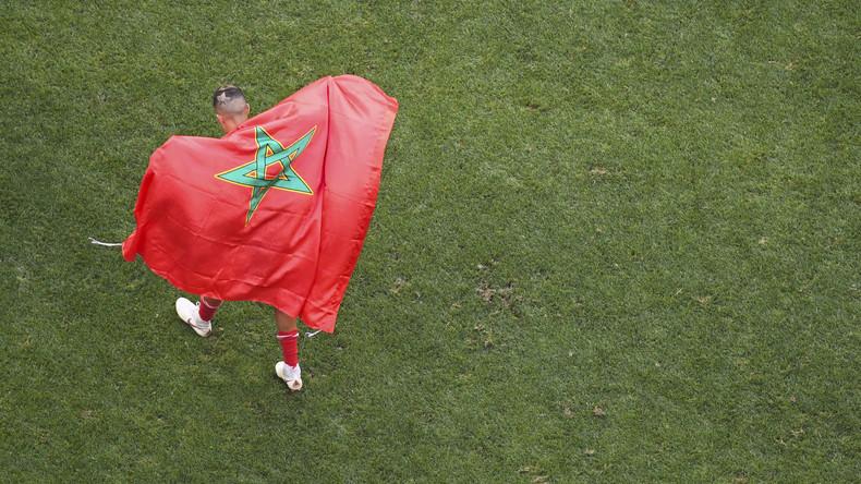Des supporters marocains ont-ils tenté d'arracher un drapeau israélien après un match du Mondial ?