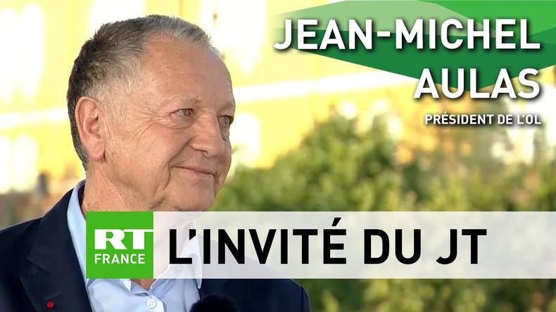 Jean-Michel Aulas à RT : «C'est une Coupe du monde très réussie sur le plan de l'organisation»