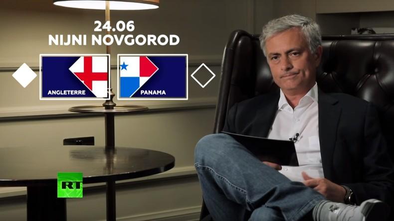 Découvrez le pronostic de José Mourinho pour le match Angleterre-Panama (VIDEO)