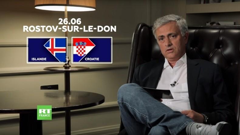 Découvrez l'analyse de José Mourinho pour le match Islande-Croatie (VIDEO)