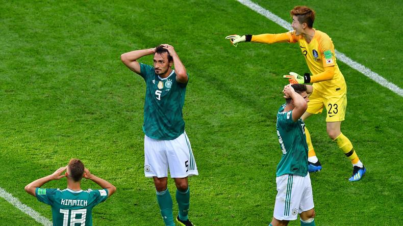 Coup de théâtre : l'Allemagne, tenante du titre, éliminée de la Coupe du monde