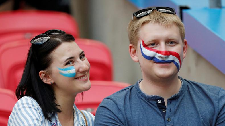 France-Argentine : les supporters sont prêts (VIDEO)