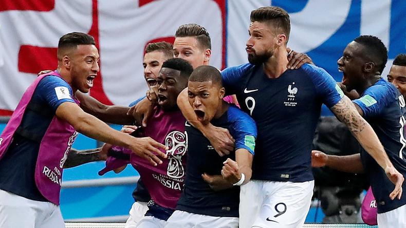 La France défait l'Argentine 4-3 et passe en quarts de finale