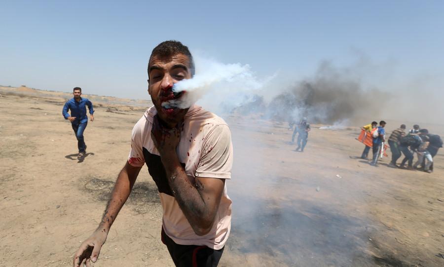 Gaza : quatre Palestiniens tués, 500 blessés et des images choquantes d'une journée meurtrière