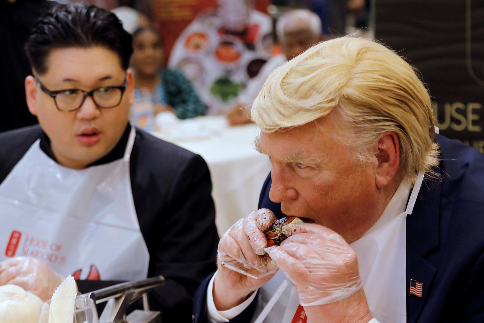 Le vrai faux sommet entre Donald Trump et Kim Jong-un à Singapour (PHOTOS)