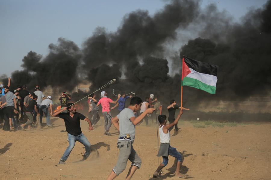 Gaza : des dizaines de Palestiniens blessés par les forces israéliennes à la frontière (IMAGES)