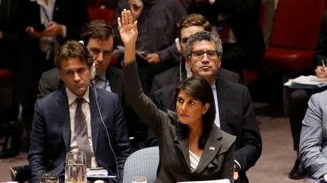 ONU : veto américain à une résolution du Conseil de sécurité appelant à protéger les Palestiniens
