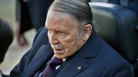 Abdelaziz Bouteflika en novembre 2017