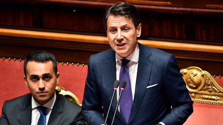 Giuseppe Conte le 5 juin devant les sénateurs italiens