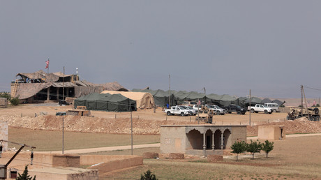 Les Etats-Unis ont établi en février 2018 une nouvelle base militaire à Minbej, dans le nord de la Syrie, photo ©Rodi Said/Reuters