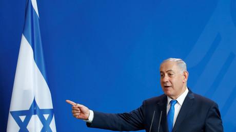 Benjamin Netanyahou le 4 juin à Berlin en visite officielle.