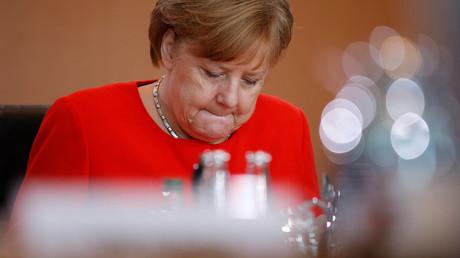 Angela Merkel, à Berlin, le 30 mai, illustration