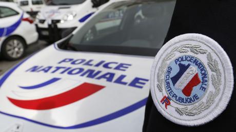 Uniforme de policier à Bordeaux, illustration