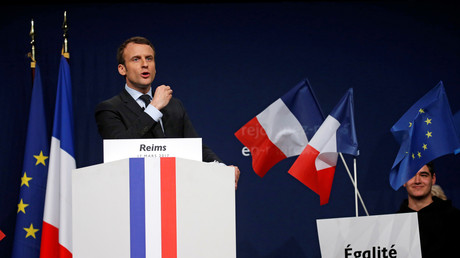 Emmanuel Macron en meeting le 17 mars 2017