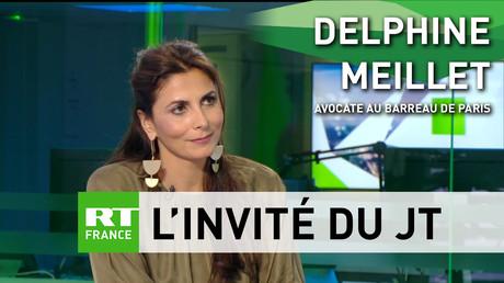 Delphine Meillet était l'invitée de RT France