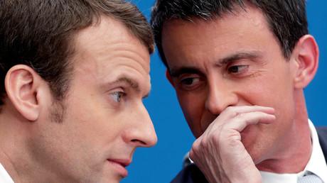 Image d'illustration : Emmanuel Macron et Manuel Valls