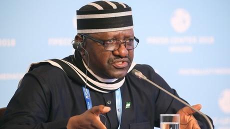 Steve Davies Ugbah, ambassadeur nigérian en Russie