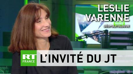 Leslie Varenne, géopolitologue