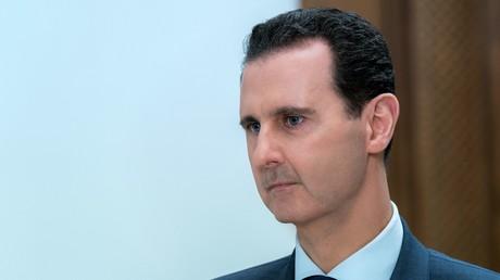 Image d'illustration : Bachar el-Assad  lors d'un entretien à Damas