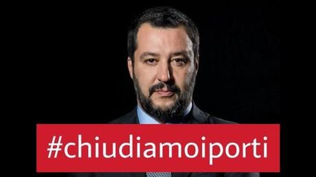 Capture d'écran du compte Facebook de Matteo Salvini