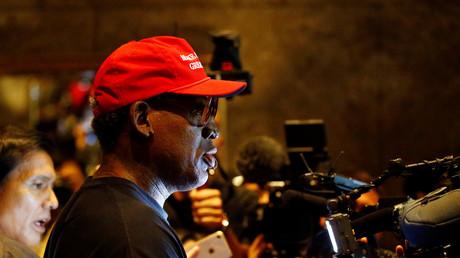 Dennis Rodman pleure de joie en évoquant la rencontre Trump-Kim (VIDEO)