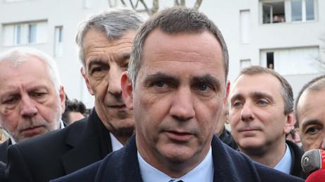 Le président du conseil exécutif de Corse Gilles Simeoni le 7 février 2018 à Bastia. (image d'illustration)