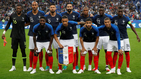 Suivez en direct l'entraînement de l'équipe de France