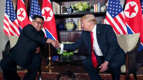 «Seuls les plus courageux peuvent faire la paix» : Trump et Kim s'invitent mutuellement