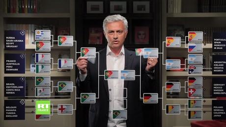 Coupe du monde 2018 : voici commentJosé Mourinho imaginela finale