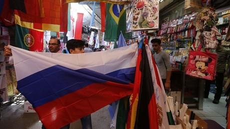«Leur victoire serait la nôtre» : ces Syriens qui vibrent pour la Russie pendant la Coupe du monde