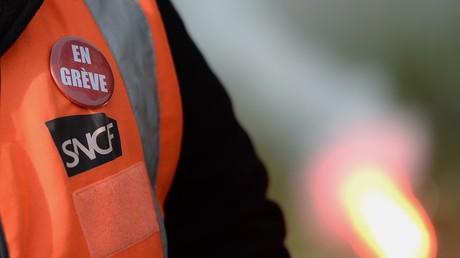 Les cheminots de la SNCF sont toujours en grève. (image d'illustration)
