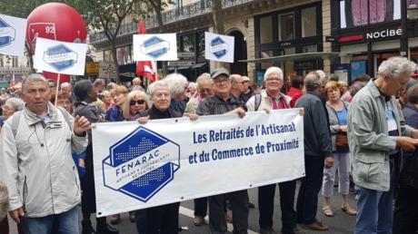 Hausse de la CSG, gel des pensions... : les retraités manifestent contre le gouvernement