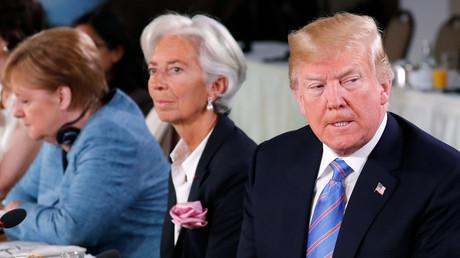 Donald Trump lors du G7