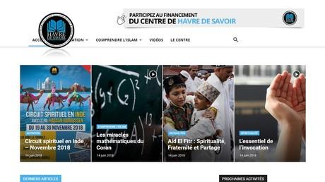 La site de l'association Havre de Savoir en juin 2018.